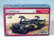 Stavebnice Vista MS 29 Commando Land Rover 1:35