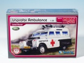 Stavebnice Vista MS 35 Unprofor Ambulance Land Rover 1:35