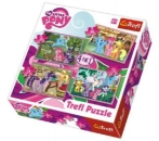 Puzzle 4v1 My Little Pony