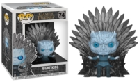 Funko POP Deluxe: GOT S10 - Night King Sitting on Throne