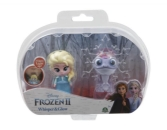 Frozen 2: 2-pack svítící mini panenka - Elsa Travelling & Fire Spirit
