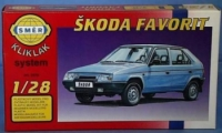 Model Škoda Favorit  1:28