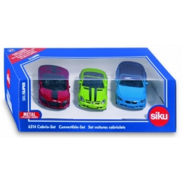 SIKU Super 6314 - Set kabrioletů 3ks
