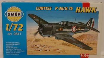 Model Curtiss P-36/H.75 Hawk 1:72