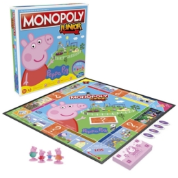 Monopoly Junior Prasátko Peppa